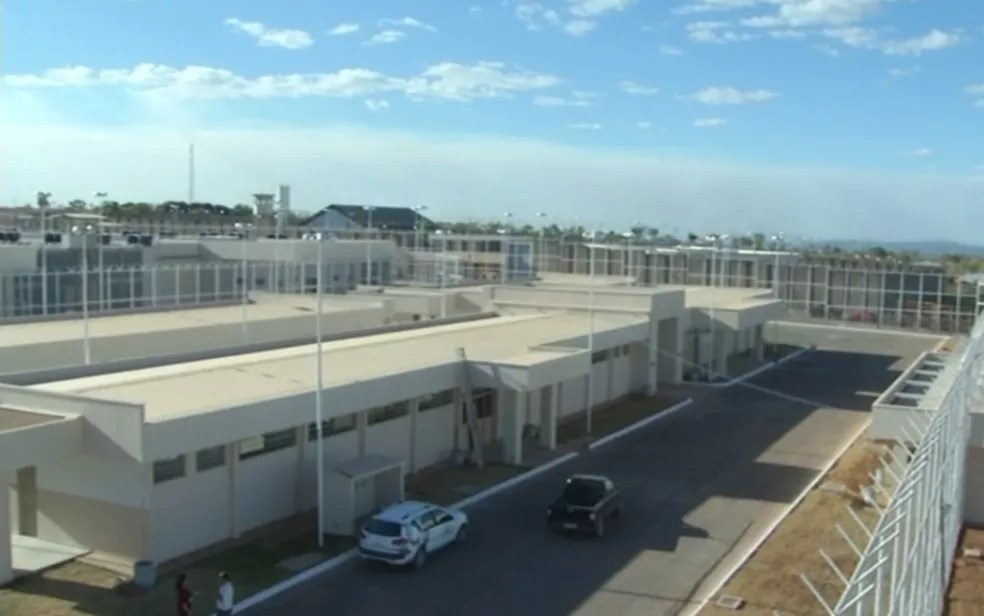 MP pede que detentos da unidade antiga sejam levados para novo presídio de Formosa (Foto: Reprodução/TV Anhanguera)