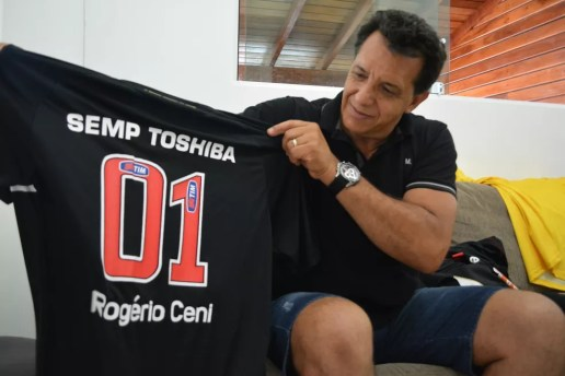 Haroldo Lamounier, ex-preparador de goleiros São Paulo (Foto: Cairo Oliveira)