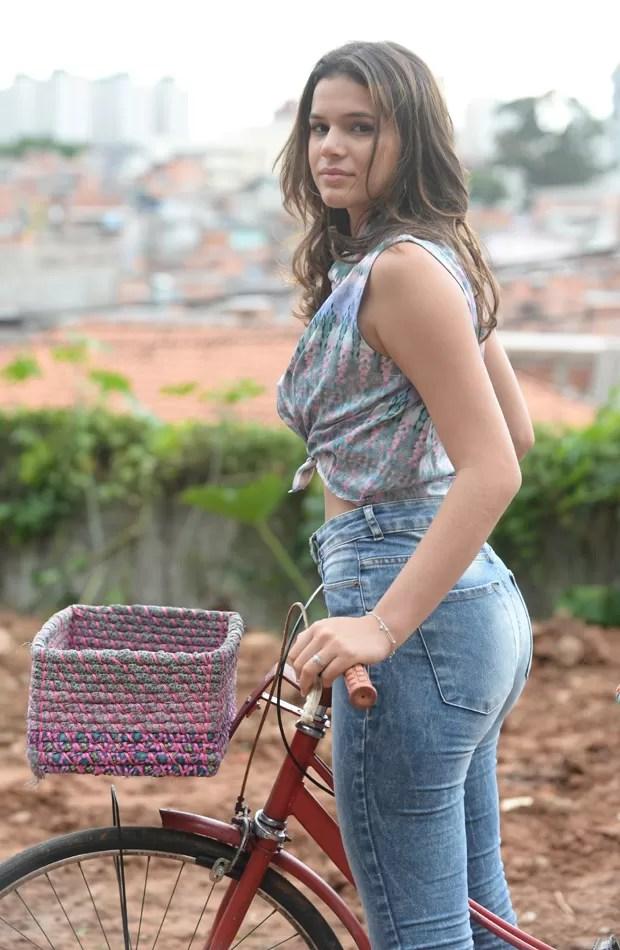 Bruna Marquezine (Foto: Zé Paulo Cardeal/TV Globo)