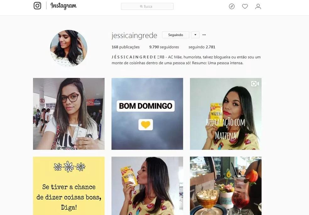 Com dicas do dia a dia, Jéssica conseguiu quase 10 mil seguidores em menos de 10 meses  (Foto: Reprodução/Instagram )