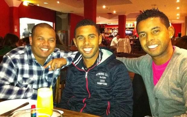 Gêmeos Diogo e Diego, ex-Inter (Foto: Arquivo pessoal)