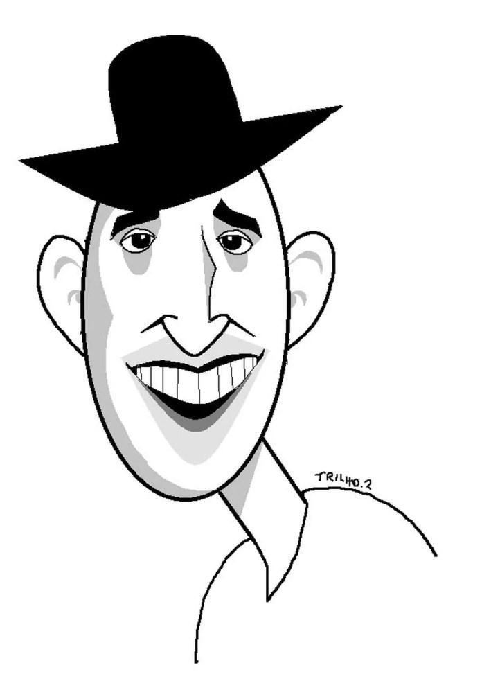 Trilho faz homenagem a Paulo Gustavo — Foto: Trilho/Associação dos Cartunistas do Brasil