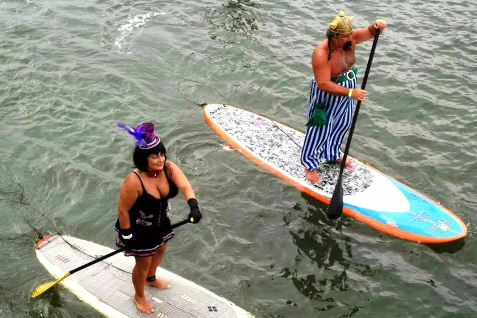 Marido e mulher participavam de eventos de surfe na região (Foto: Henrique Crescente/Alma Surfe)