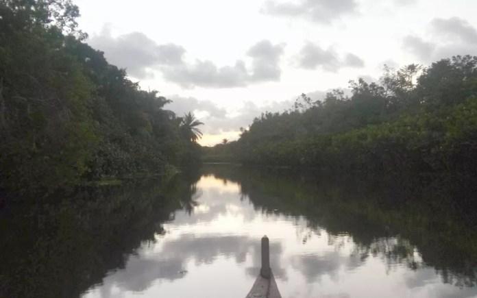 Rio Gramame integra a bacia, de mesmo nome, que é responsável pela maior parte da água que abastece a Grande João Pessoa — Foto: Sérgio Santos/Arquivo Pessoal