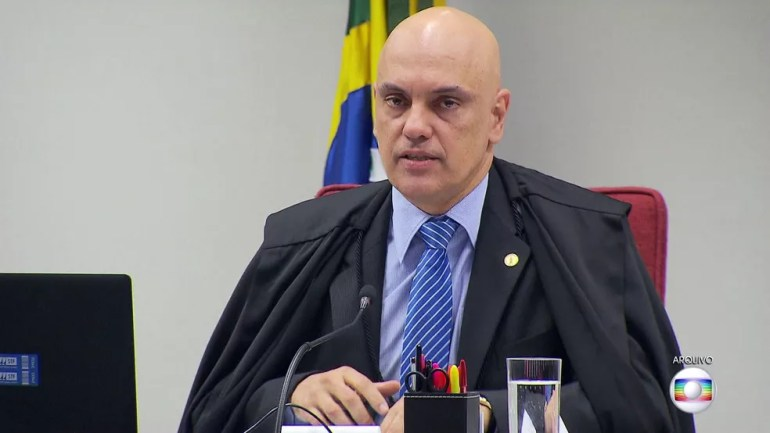 Alexandre de Moraes — Foto: JN