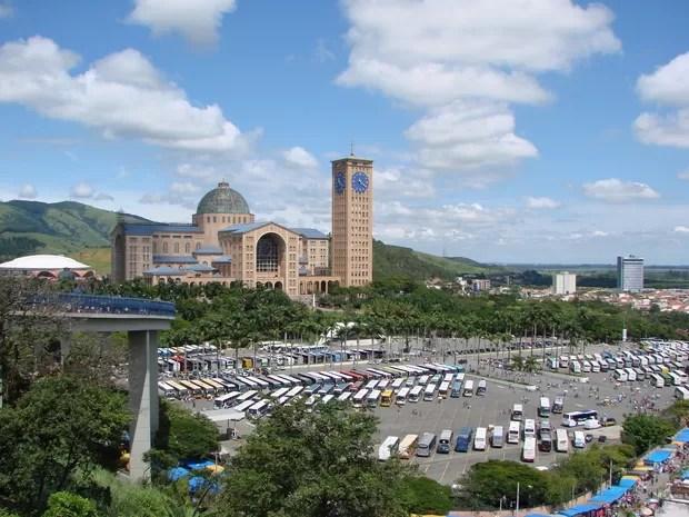 Santuário Nacional de Nossa Senhora Aparecida (Foto: Renato Ferezim/ G1)