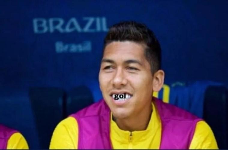 Brasil 2 x 0 México (Foto: Reprodução)