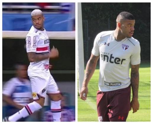 Júnior Tavares no domingo (à esq.) e nesta quarta (Foto: Reprodução/TV Globo e Marcelo Prato)
