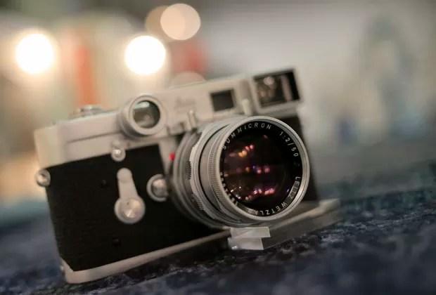 A milésima 'Leica M3' datada de 1960 (Foto: Alexander Klein/AFP)