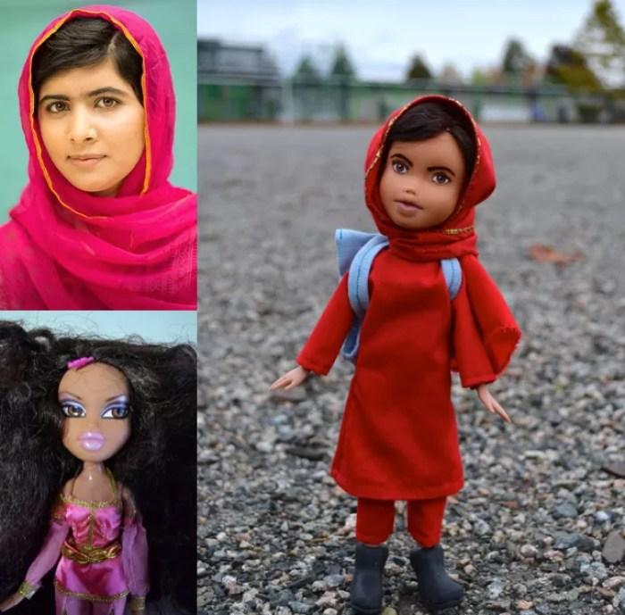 Malala Yousafzai, ativista e vencedora do prêmio Nobel da Paz de 2014 (FOTO: REPRODUÇÃO/WENDY TSAO)