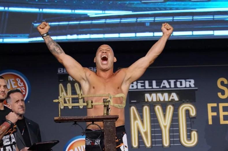 As últimas lutas de Wanderlei Silva aconteceram no Bellator, nos EUA — Foto: Evelyn Rodrigues