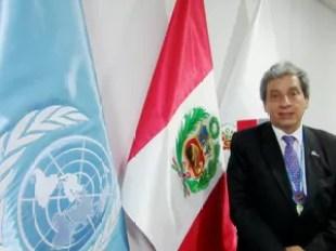 O ministro do Meio Ambiente e presidente da COP 20, Manuel Pulgar Vidal (Foto: Eduardo Carvalho/G1)