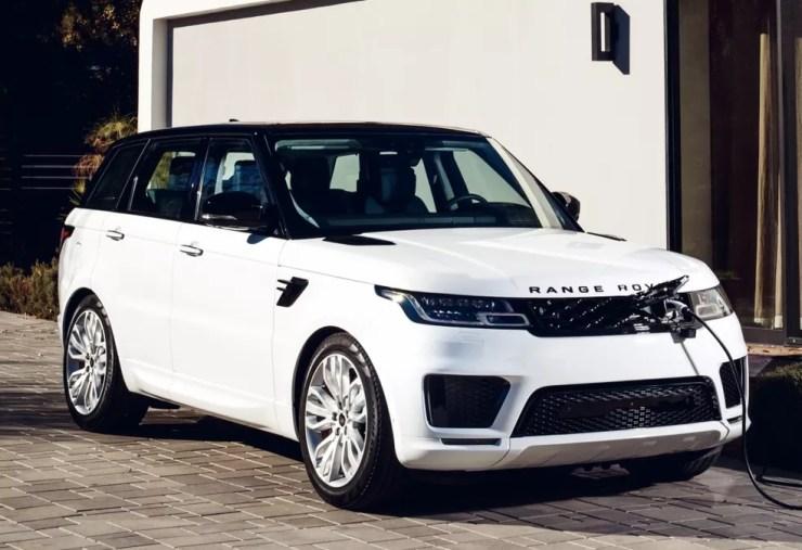 Land Rover Range Rover Sport híbrido plug-in — Foto: Divulgação/Land Rover