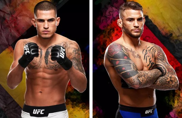 Image result for Anthony Pettis vs. Dustin Poirier