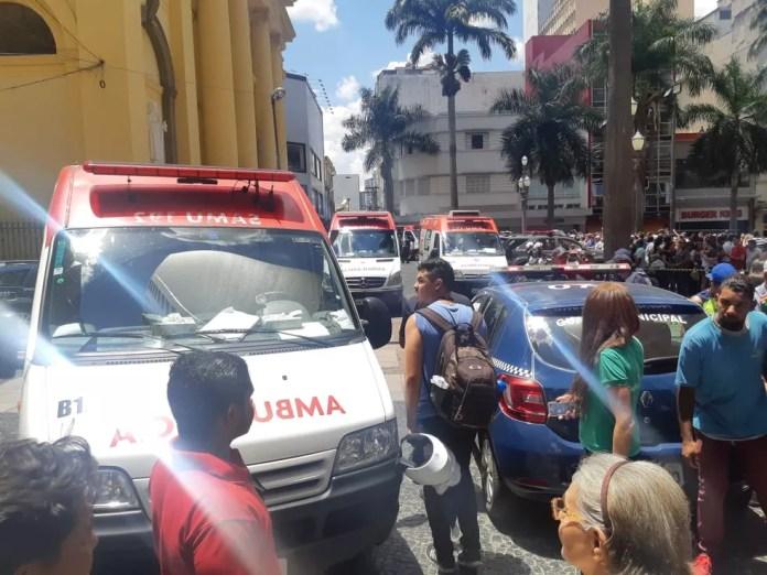 Crime ocorreu na tarde desta terça-feira, em Campinas — Foto: Johnny Inselsperger / EPTV