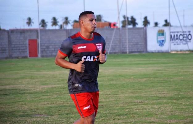 Rafael Costa teve nome publicado no BID (Foto: Maxwell Oliveira/Ascom CRB)