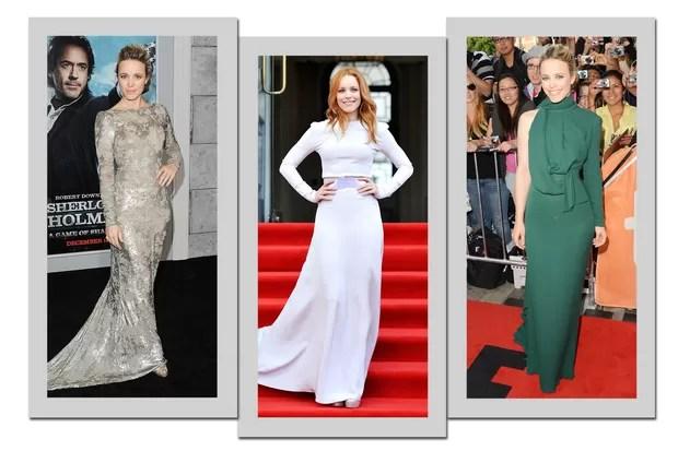 Rachel McAdams: mangas longas são hit nas aparições da estrela (Foto: Getty Images)