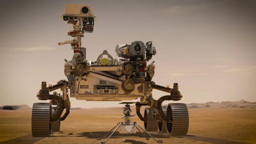 O Perseverance, o novo robô que a Nasa enviou a Marte  — Foto: Nasa