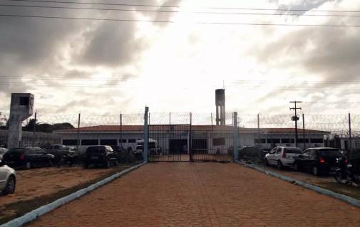 Penitenciária Estadual de Parnamirim, na Grande Natal (Foto: Ricardo Araújo/G1)