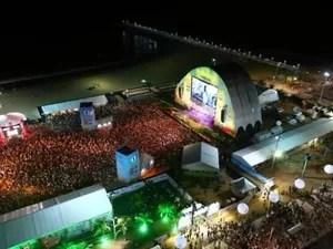 Abertura da Fifa Fan Fest em Fortaleza (Foto: Imagens Fifa)