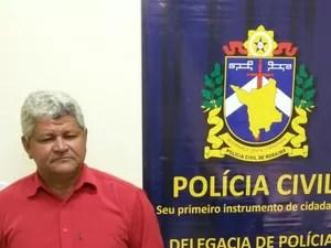 Homicida foi levado para penitenciária do estado (Foto: Polícia/divulgação)