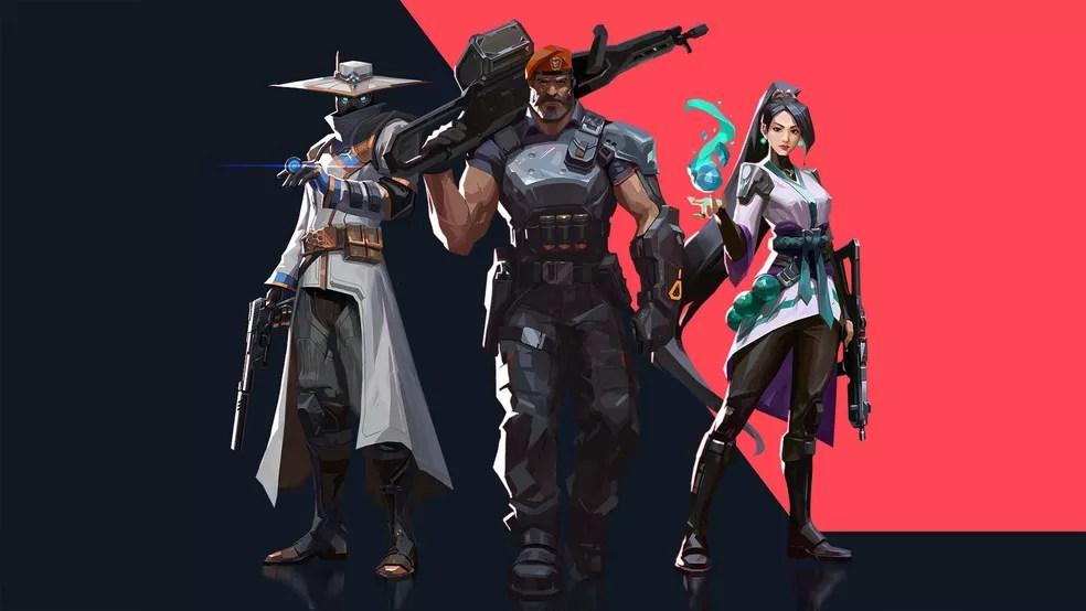 O game Valorant é publicado pela Riot Games — Foto: Divulgação/Riot
