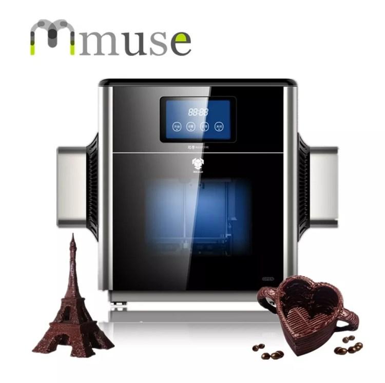 MMuse transforma chocolate em esculturas — Foto: Reprodução/ Taysa Coelho
