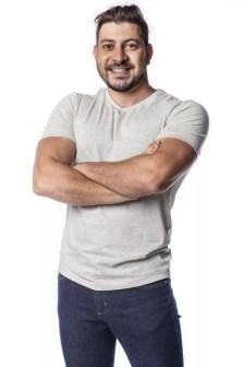 BBB21: Caio revela estar vivendo uma mistura de 'agonia, felicidade, ansiedade, curiosidade e vontade de jogar' — Foto: divulgação Globo