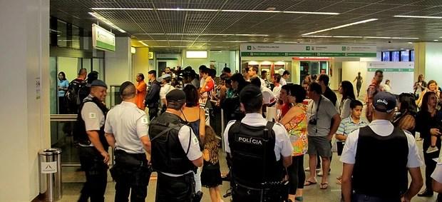são paulo chegada brasília (Foto: Carlos Augusto Ferrari)