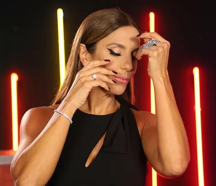 Veveta também apostou em jóias superdelicadas (Foto: Isabella Pinheiro / Gshow)
