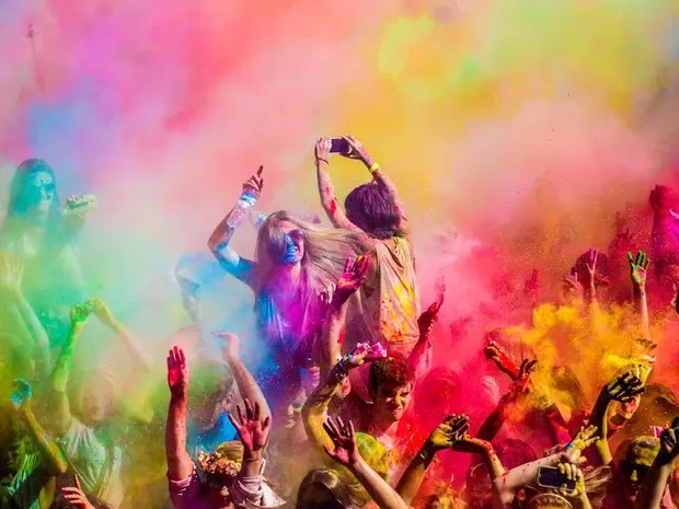 Festival Happy Holi (Foto: Divulgação)