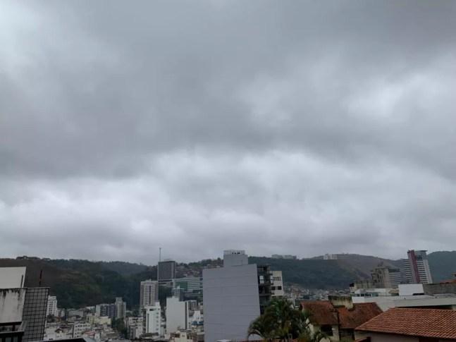 Primavera chega com chuvas e temperaturas amenas na Zona da Mata e Campo das Vertentes — Foto: Telma Elisa/G1