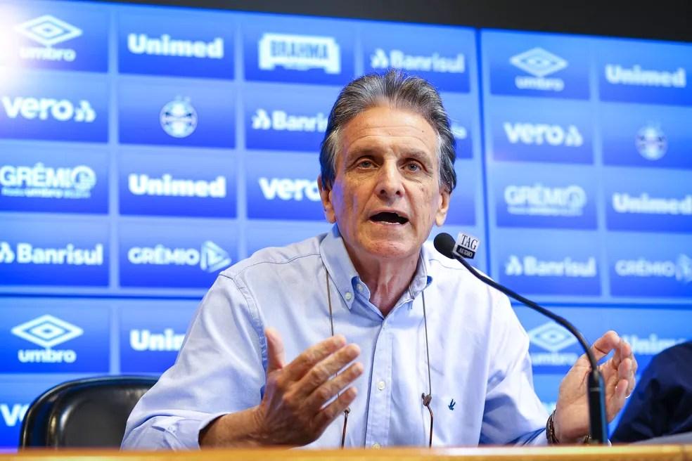 Paulo Luz deixa o cargo de vice de futebol do Grêmio — Foto: Lucas Uebel/Divulgação Grêmio
