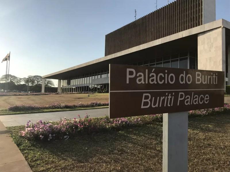 Palácio do Buriti — Foto: Nicole Angel/ G1 DF