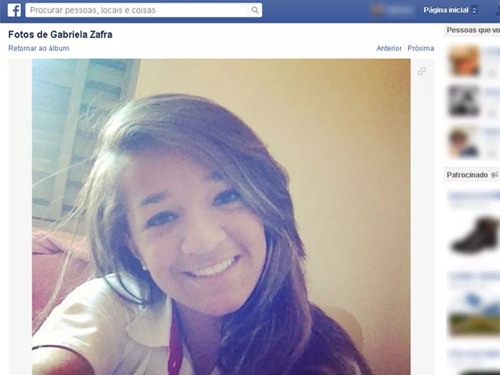 Gabriela Zafra, de 16 anos, morreu após ser atendida cinco vezes em unidades de saúde de Ribeirão Preto (Foto: Reprodução/Facebook)