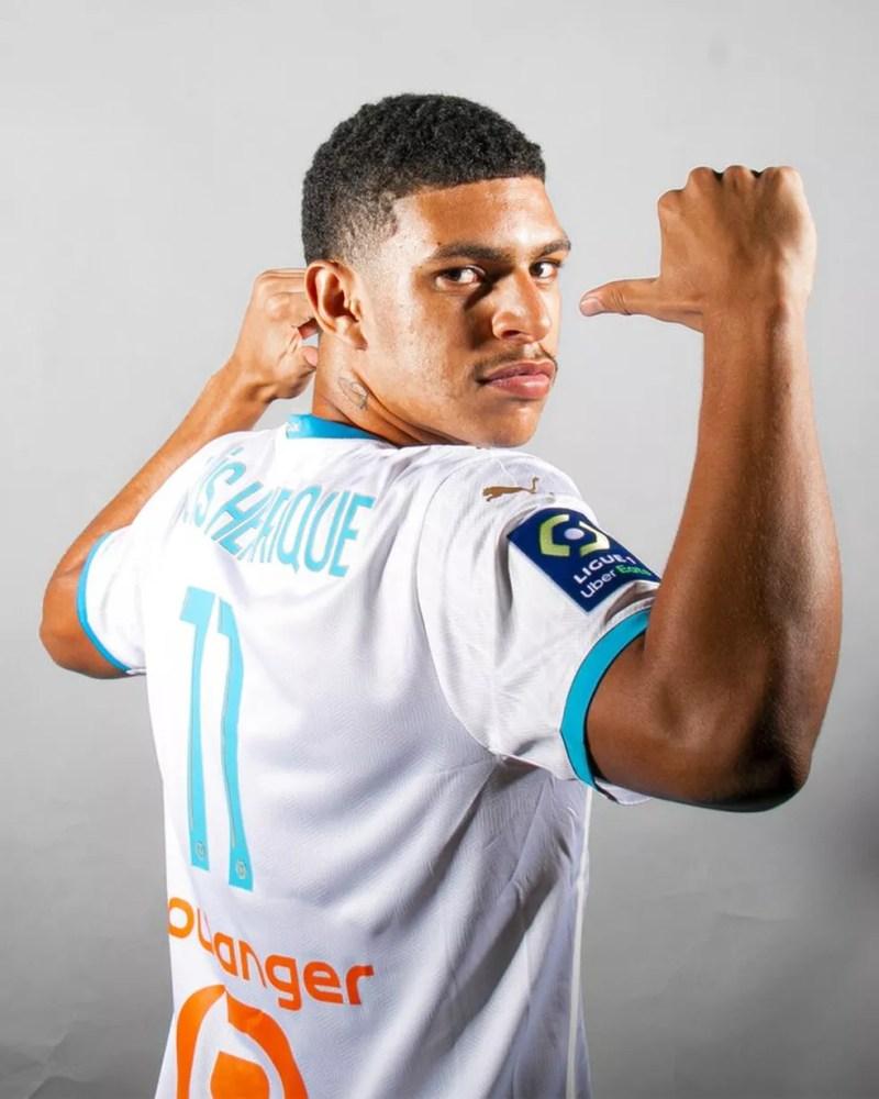 Luis Henrique foi vendido ao Olympique de Marselha — Foto: Divulgação / OM