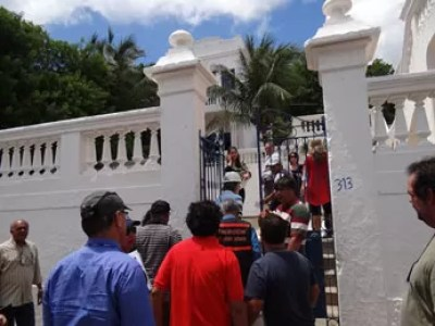 Olinda fiscaliza casas onde há festas durante o carnaval. (Foto: Katherine Coutinho / G1 PE)