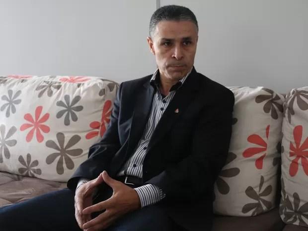 Candidato do PMN, João Rodrigues critica a administração dos recursos públicos gaúchos (Foto: Vinícius Guerreiro/G1)