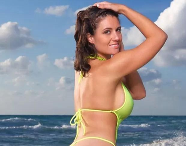 Olivia Sprauer posou nua e será capa da revista pornô 'Hustler' (Foto: Reprodução/Facebook/Victoria James)