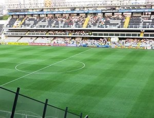 Vila Belmiro, Santos e Botafogo (Foto: Flávio Meireles)