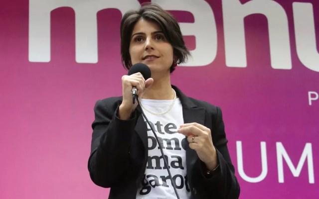PC do B oficializa candidatura de Manuela D'Ávila à Presidência (Foto: Fátima Meira/Futura Press/Estadão Conteúdo)
