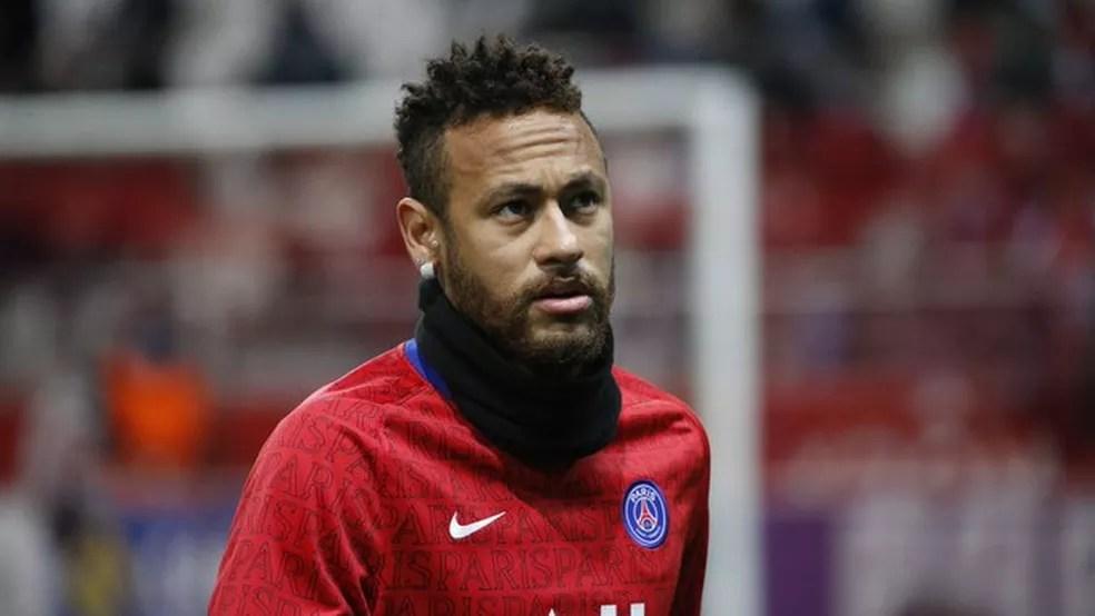 Neymar entrou em campo no último fim de semana, na vitória do PSG sobre o Reims — Foto: Divulgação / PSG