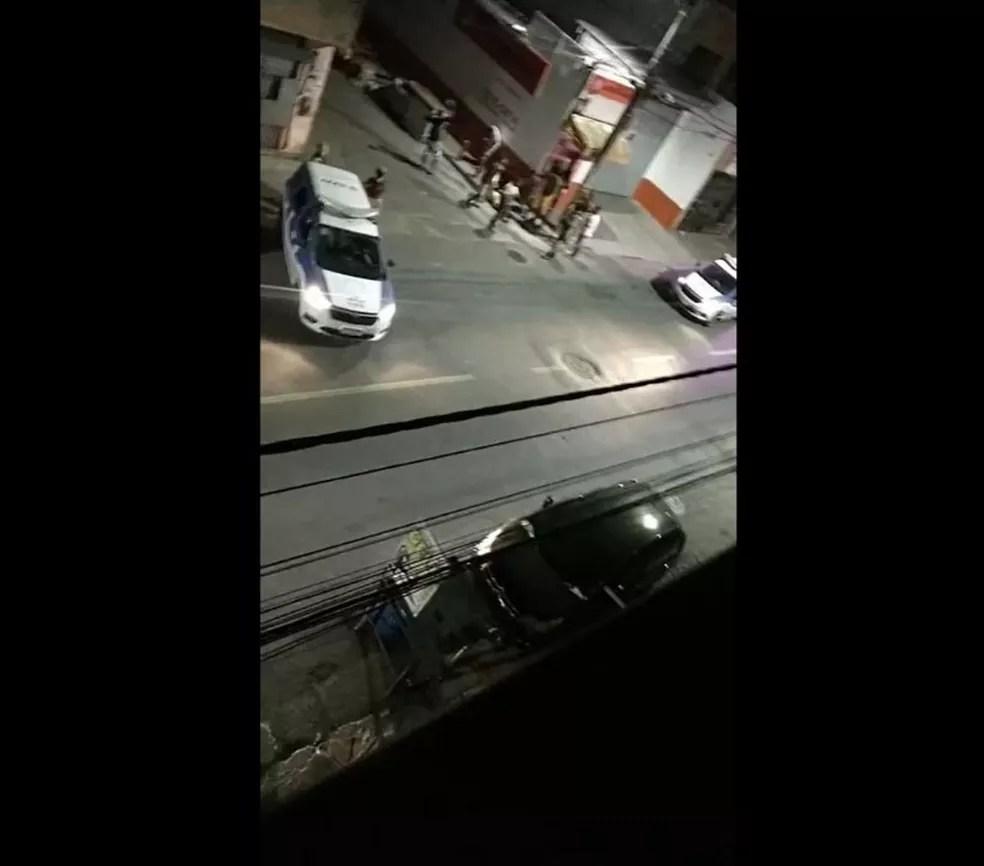 Grupo armado atira contra festa paredão e deixa mortos e feridos em Salvador — Foto: Reprodução/Redes Sociais