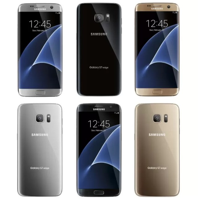 Galaxy S7 Edge da Samsung poderá ter três opções de cor, diz site