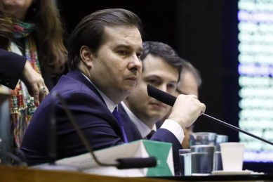 O deputado Rodrigo Maia (DEM-RJ), presidente da Câmara — Foto: Luis Macedo/Câmara dos Deputados
