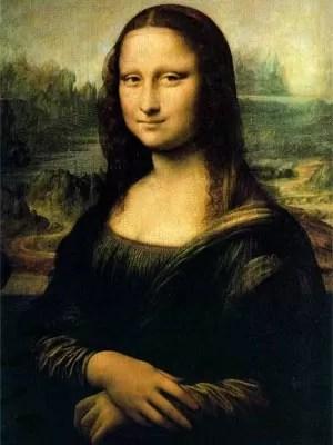 'Monalisa', um dos quadros mais famosos de Leonardo da Vinci (Foto: Reprodução/Wikicommons)