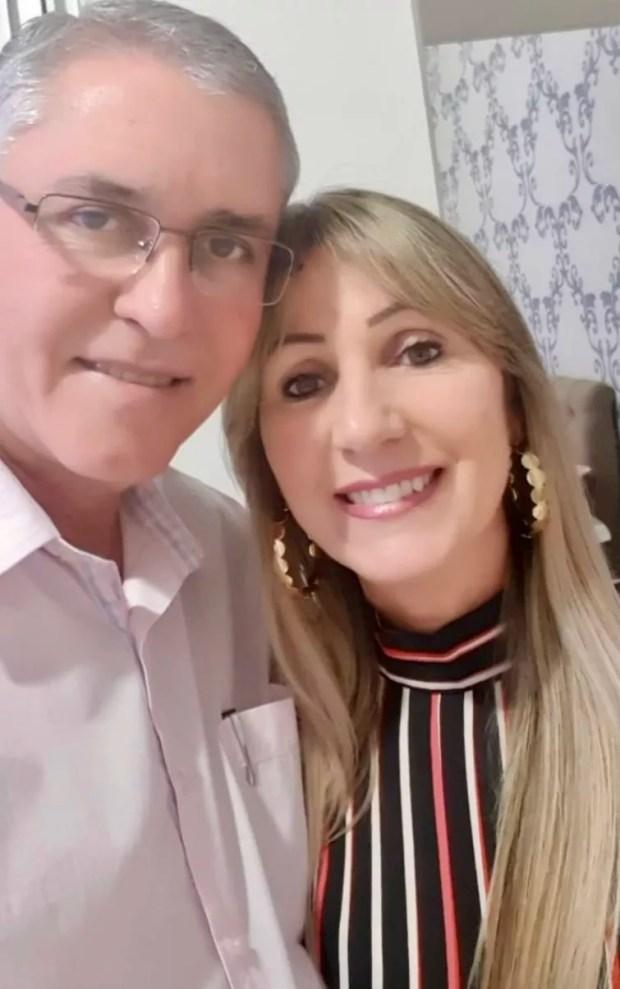Marisa Prata e o marido Evandro (Foto: Arquivo Pessoal)