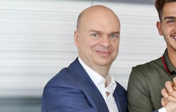 Marco Fassone, CEO do Milan (Foto: Reprodução Twitter)