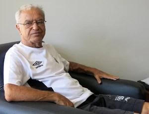 Ademar Indau torcedor Santos 50 anos bimundial (Foto: Bruno Gutierrez)