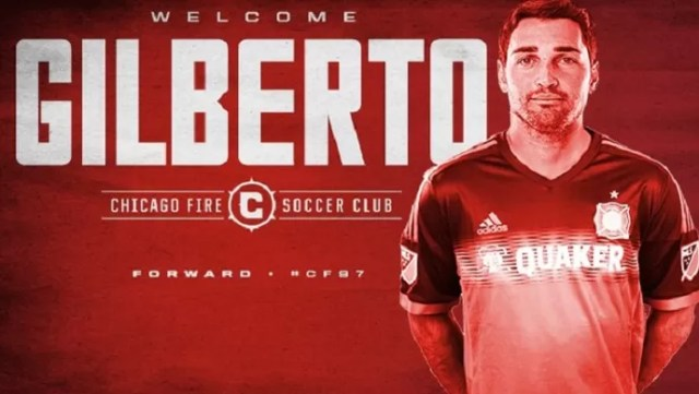 Gilberto Chicago Fire (Foto: Reprodução/Twitter)